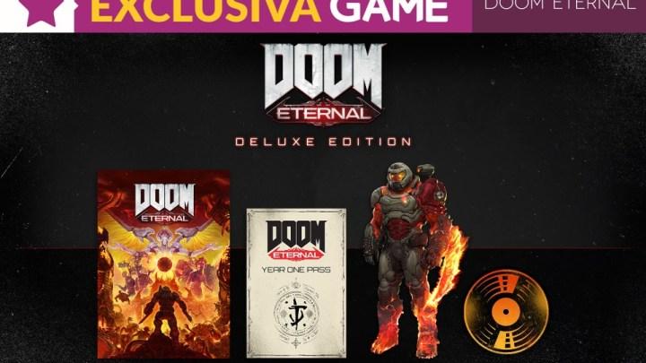 La 'Deluxe Edition' de DOOM Eternal será exclusiva de GAME