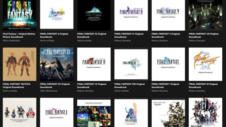 Las Bandas Sonoras originales de toda la saga Final Fantasy llega a Spotify