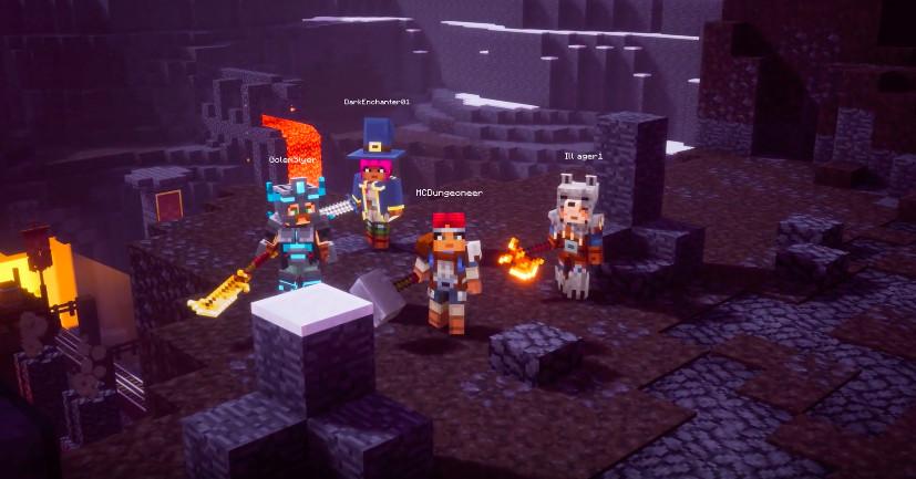 E3 2019 | Minecraft Dungeons muestra pequeñas pinceladas de su jugabilidad