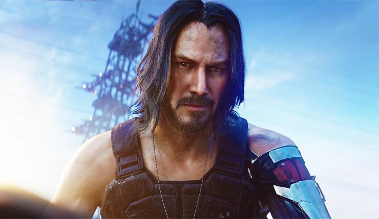 Keanu Reeves protagoniza los nuevos vídeos de Cyberpunk 2077