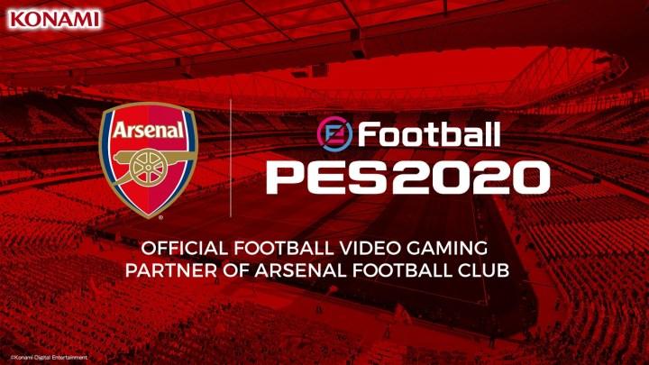 Konami y Arsenal FC anuncian la ampliación de su acuerdo de larga duración