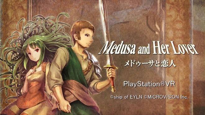 Medusa and Her Love invade PlayStation VR