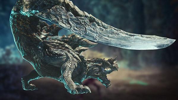 El Acidic Glavenus protagoniza el nuevo gameplay de Monster Hunter World: Iceborne