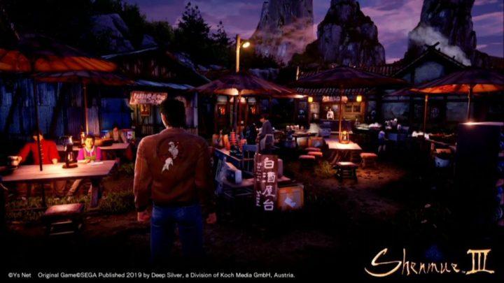 Shenmue III muestra un nuevo trailer centrado en los entornos