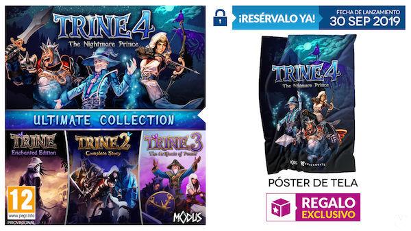 GAME presenta los incentivos por la reserva de Trine Ultimate Collection para PS4 y Xbox One