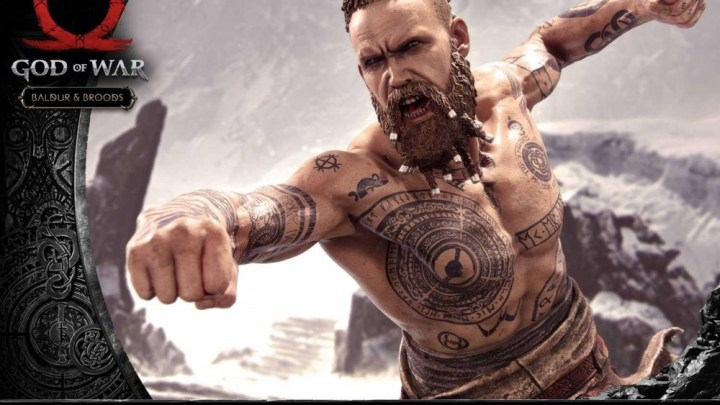 Descubre cómo luce la espectacular figura inspirada en Baldur, el antagonista de God of War
