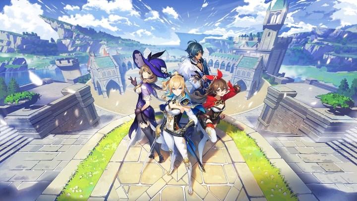 Sony y miHoYo anuncian el lanzamiento en Europa de 'Genshin Impact' para PlayStation 4