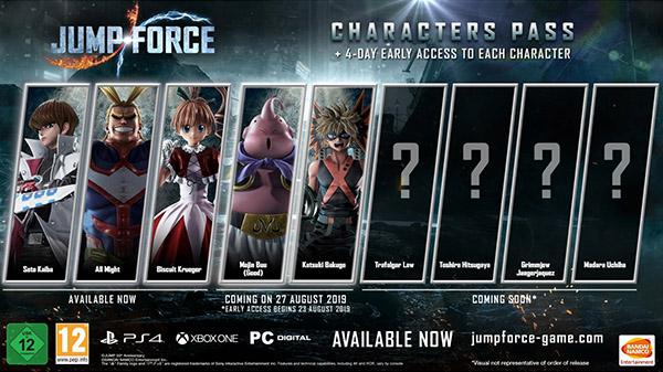 Majin Buu y Katsuki Bakugo se incorporan a Jump Force el 27 de agosto