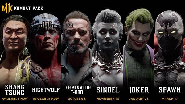 Terminator T-800 y The Joker se confirman como nuevos luchadores de Mortal Kombat 11