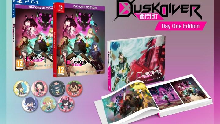 Dusk Diver Day One Edition ya disponible para PS4 y Switch | Tráiler de lanzamiento
