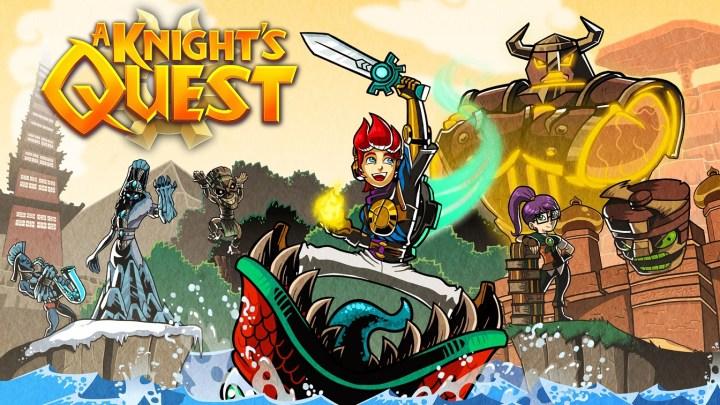 """""""A Knight's Quest"""" traerá de vuelta la acción más old-school el 10 de octubre para PS4"""