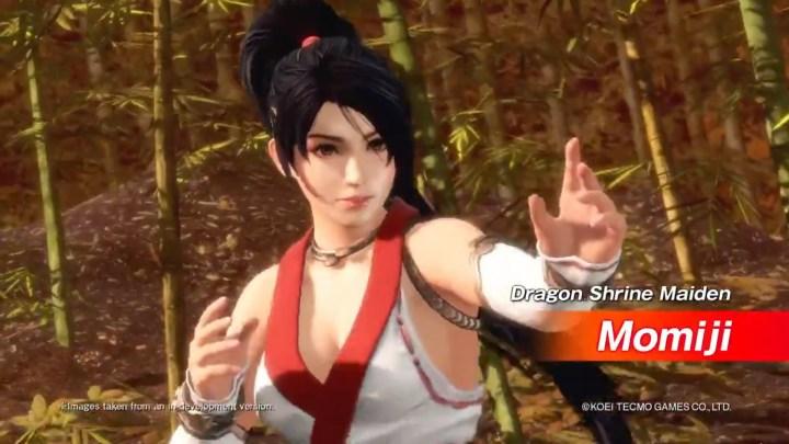 Dead or Alive 6 recibe a Momiji como luchadora descargable | Nuevo tráiler