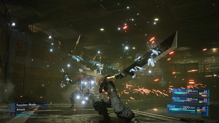 Descubre cómo funcionan los atajos de los controles del remake de Final Fantasy VII