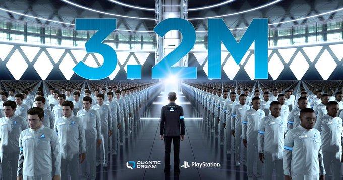 Detroit: Become Human supera los 3 millones de unidades vendidas en PS4