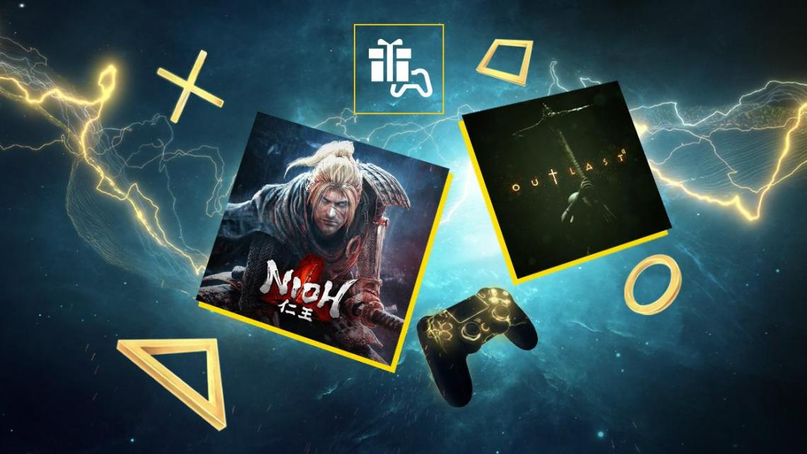 Nioh y Outlast 2 serán los juegos de PlayStation Plus para noviembre