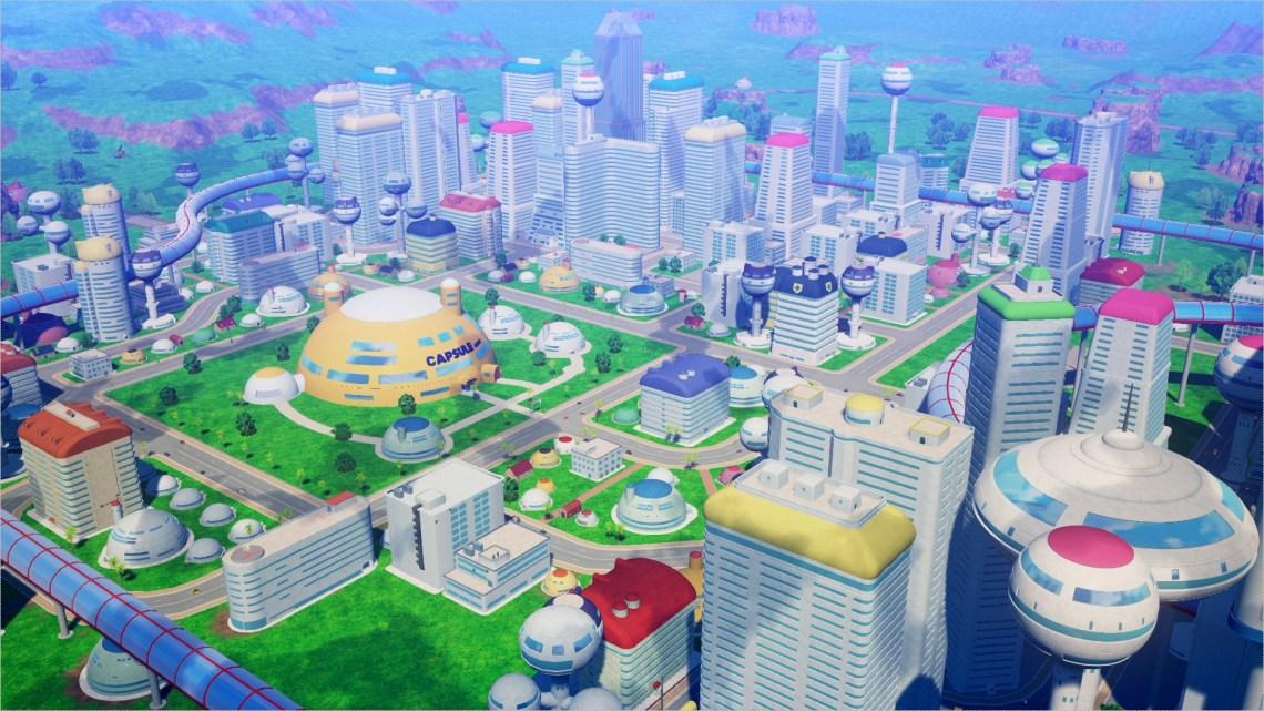 Nuevas imágenes sobre las principales localizaciones de Dragon Ball Z: Kakarot