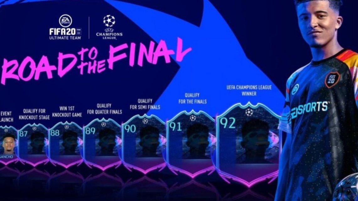 El evento 'Road to the Final' vuelve a FIFA 20