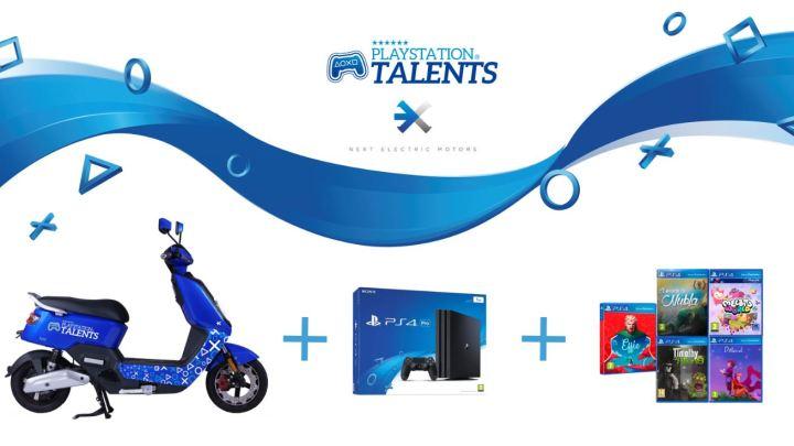 PlayStation Talents y Next Electric Motors lanzan una edición especial limitada de la moto NEXT NX1
