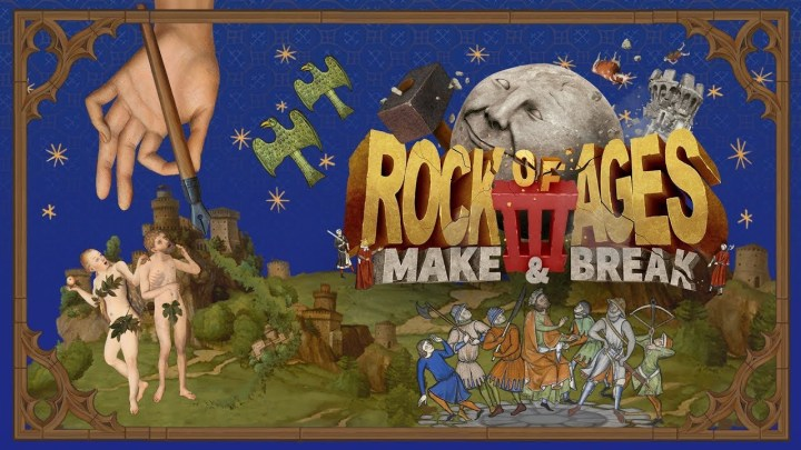 Rock of Ages III: Make & Break retrasa su lanzamiento hasta el 21 de julio