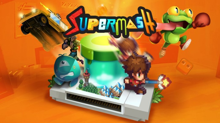Crea tu propio plataformas, RPG, metroidvania y mucho más con 'SuperMash'. Disponible en 2020 para consolas y PC