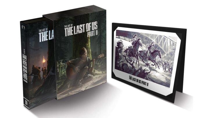 Descubre la increíble edición deluxe del libro de arte de The Last of Us: Part II