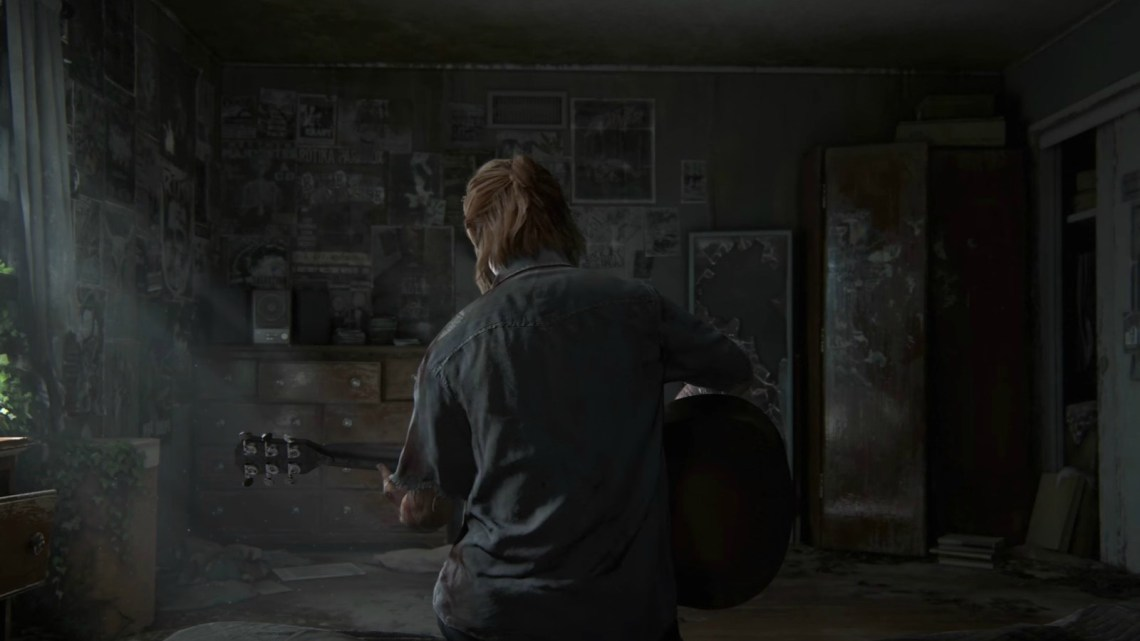 Así luce la pantalla inicial de The Last of Us: Part II