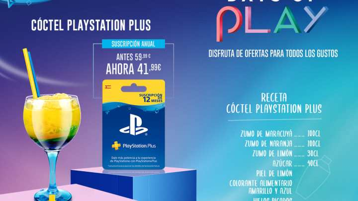 PlayStation invita a sus fans a hacer su CÓCTEL perfecto para 'Days of Play'