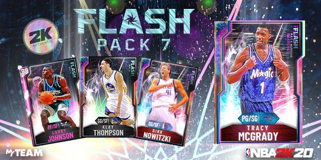 Nuevos Packs Flash 7 que llegan a NBA 2K20