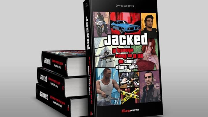 Anunciado el libro « Jacked : La historia fuera de la ley de Grand Theft Auto » , de David Kushner