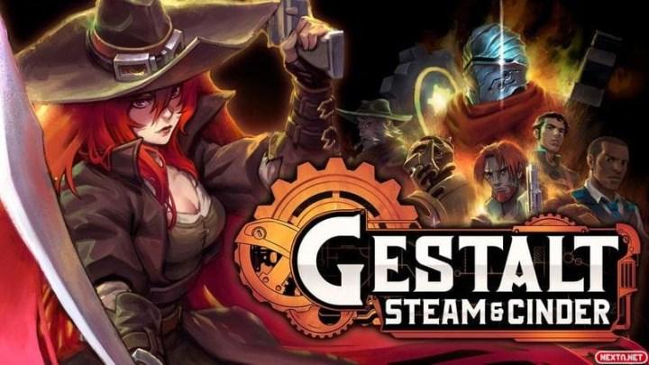 Gestalt: Steam & Cinder, prometedor metroidvania 2D estilo steampunk, estrena nuevo gameplay
