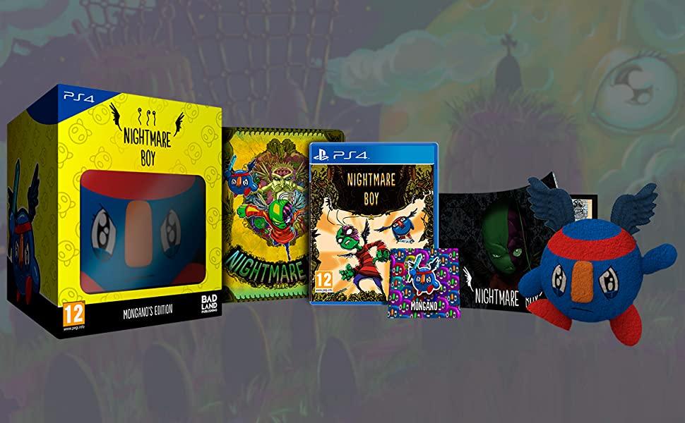 BadLand Publishing prepara una espectacular edición coleccionista de Nightmare Boy para PS4 y Switch