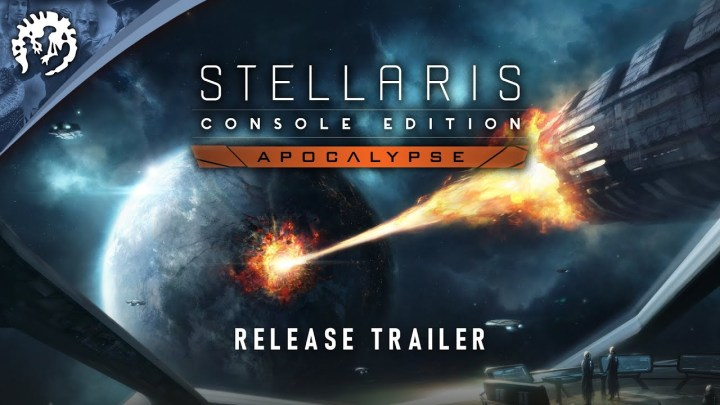 La expansión 'Apocalypse' de Stellaris ya disponible en consolas | Tráiler de lanzamiento