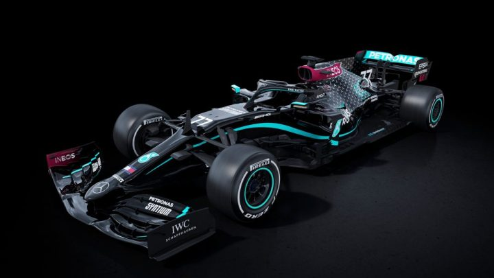 F1 2020   Disponible nueva actualización con los colores del Mercedes Black Petronas Livery y muchas mejoras