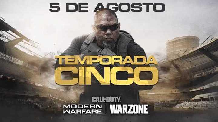 Trailer Oficial de la Temporada 5 de Call of Duty: Modern Warfare & Warzone