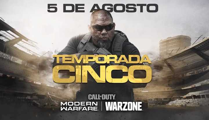 Trailer Oficial de la Temporada 5 de Call of Duty: Modern Warfare & Warzone