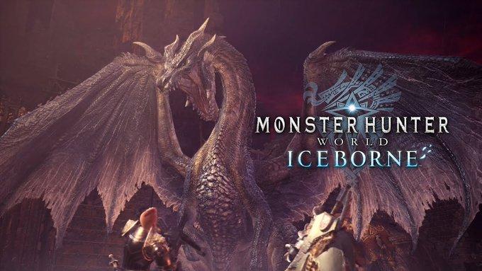 La quinta gran actualización Monster Hunter World: Iceborne llega el 1 de octubre y presenta a Fatalis
