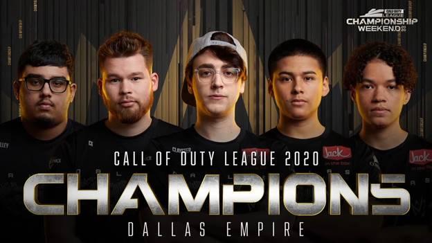 Dallas Empire conquista el primer CDL Championship