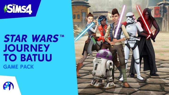 Descubre una aventura al borde de la galaxia con Los Sims 4 Star Wars: Viaje a Batuu, el nuevo pack de contenido