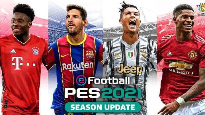 La actualización de eFootball PES 2021 ya se encuentra disponible