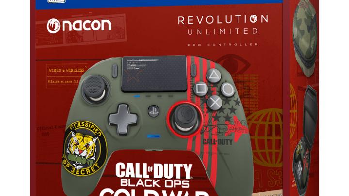Anunciado el mando Nacon Revolution Unlimited Pro Controller – Edición Call of Duty – Black Ops: Cold War