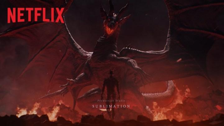 Netflix presenta el opening del anime de Dragon's Dogma