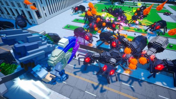 Earth Defense Force: World Brothers muestra sus mecánicas en un nuevo gameplay