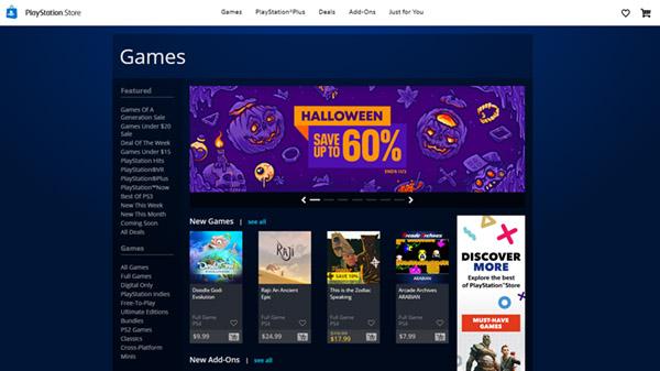 La nueva PlayStation Store se lanzará del 21 al 26 de octubre