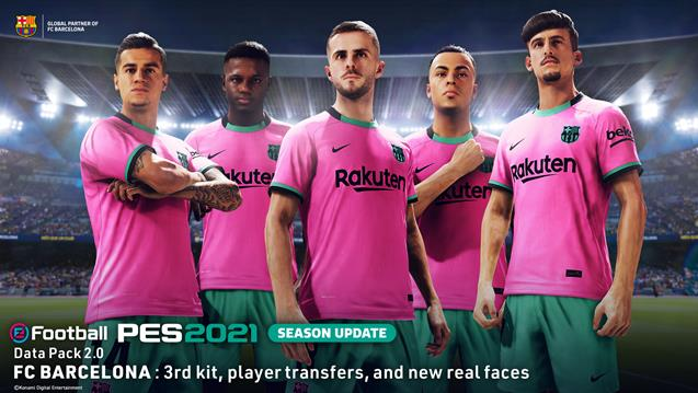 El Data Pack 2.0 de eFootball PES 2021 Season Update ya disponible
