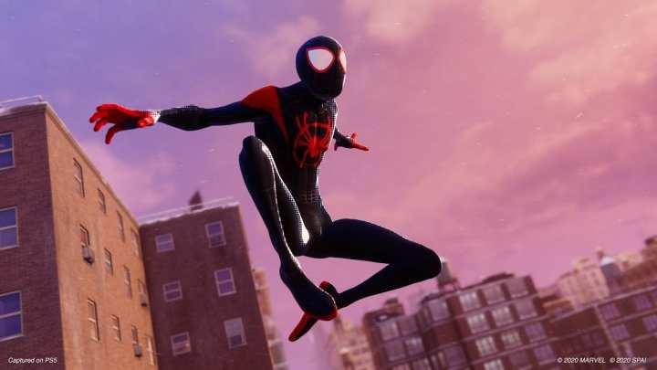 El Spider-Man de Miles Morales ya se viste como en la película de animación