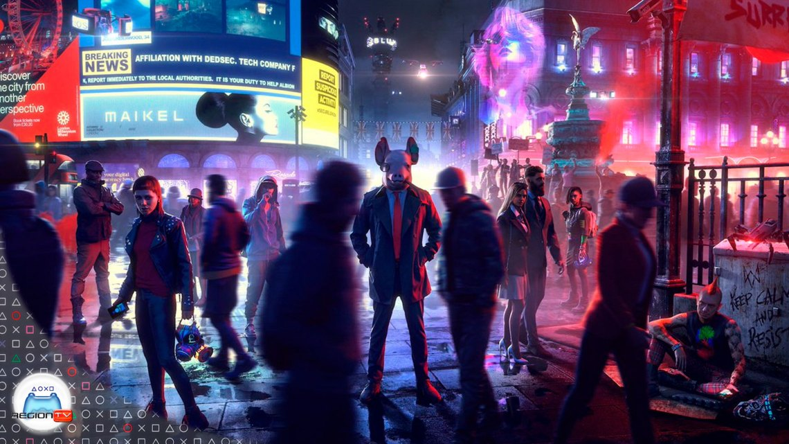 RegionTV | Toma de Contacto | Watch Dogs: Legion