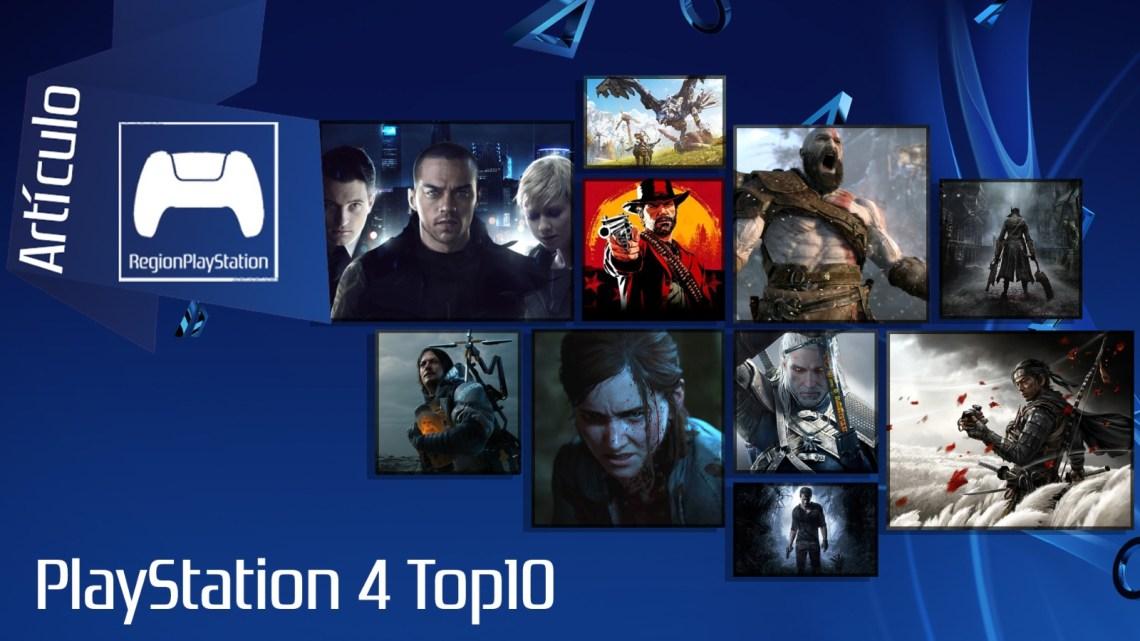 Artículo   Top 10 Videojuegos de PlayStation 4