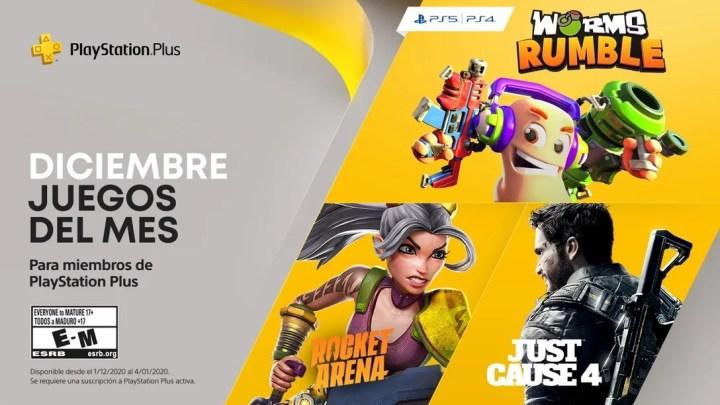 Anunciados los juegos gratuitos de diciembre en PlayStation Plus para PS5 y PS4