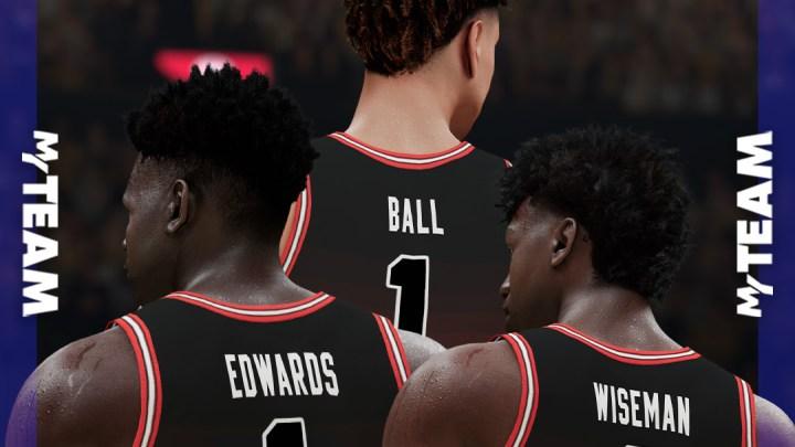 Los rookies protagonizan las nuevas cartas de NBA 2K21 MyTeam