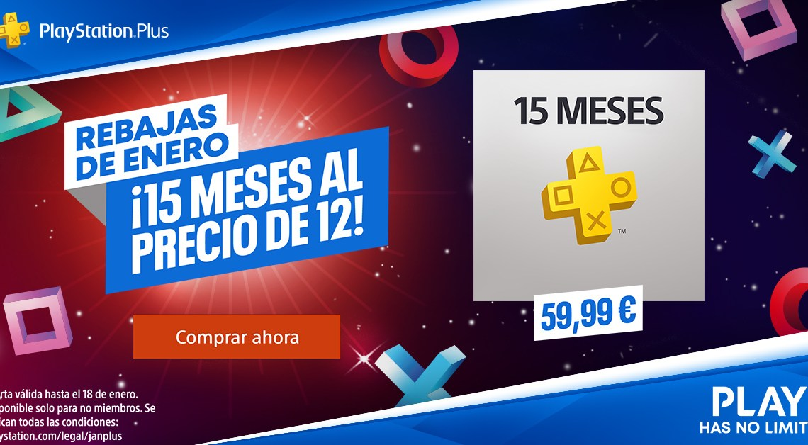PlayStation Now y PlayStation Plus se incorporan a las Rebajas de Enero de PlayStation Store